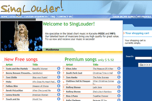 Singlouder.com back in the day
